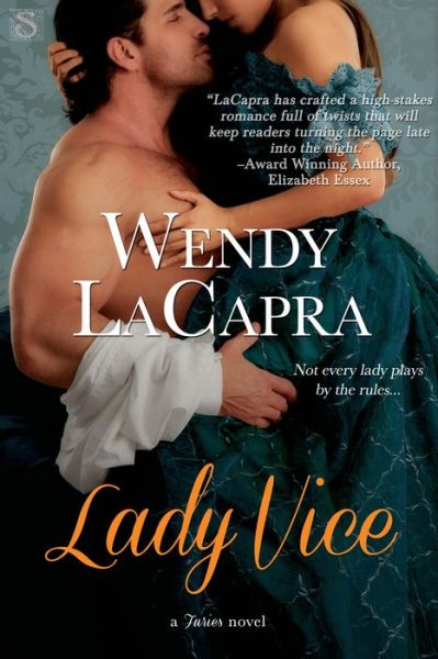 Cover image for Lady Vice (A Furies Novel) by Wendy LaCapra