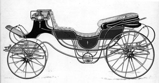 Regency Era Carriage: barouche