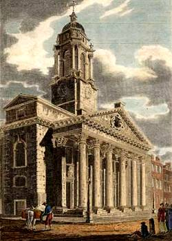 Regency Marriage: St George's Church in Hanover Square, London