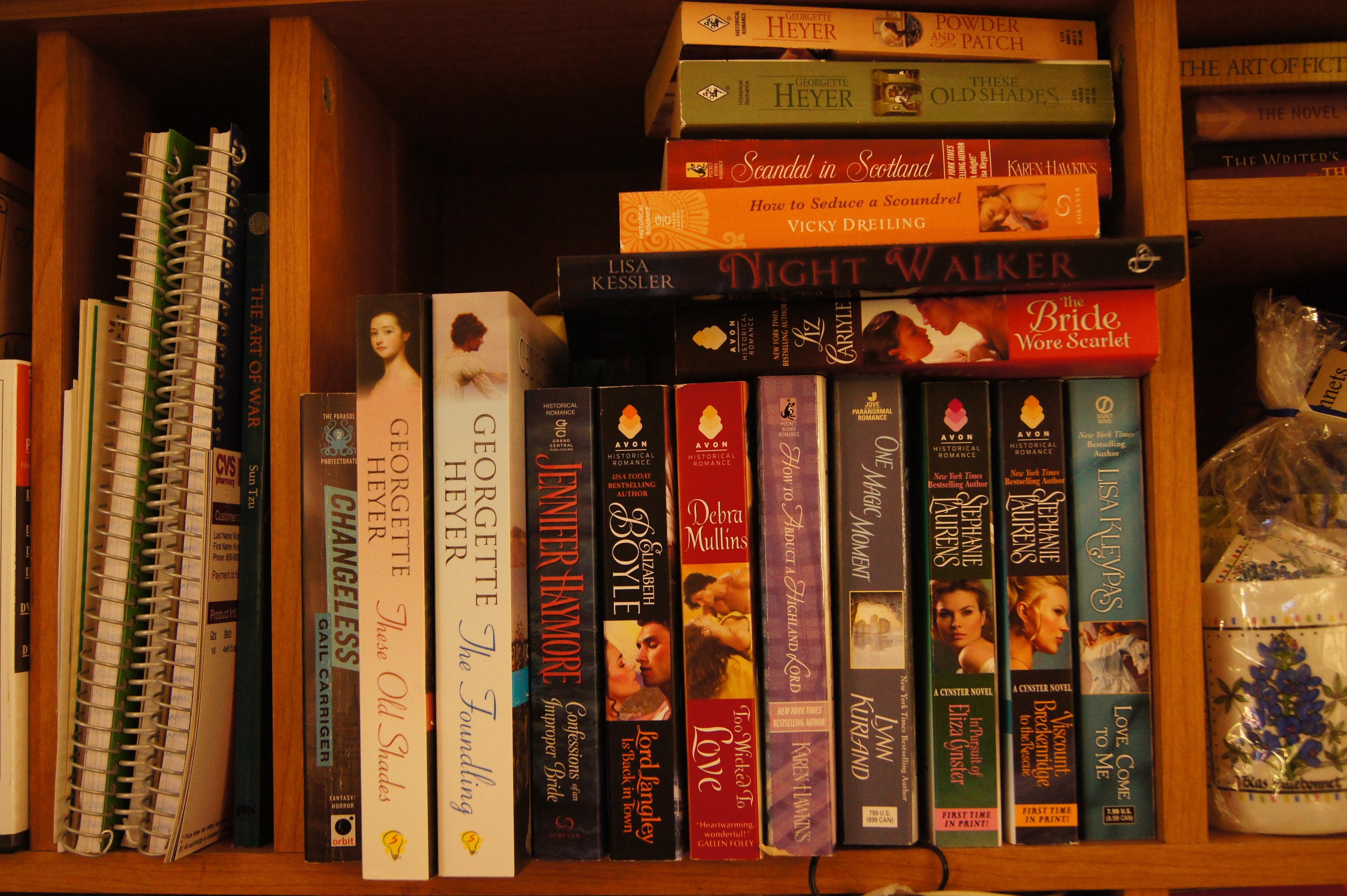 """My """"To Be Read"""" Shelf"""