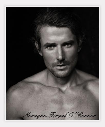 A photo of Narayan Fergal O'Connor, an inspiration for Viscount Barrington.