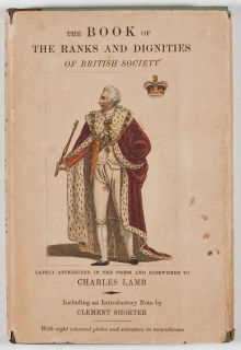 Charles Lamb's Book on Precedence
