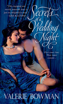 Cover for Valerie Bowman's SECRETS OF A WEDDING NIGHT