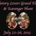 History Lovers Grand Tour & Scavenger Hunt Winners!