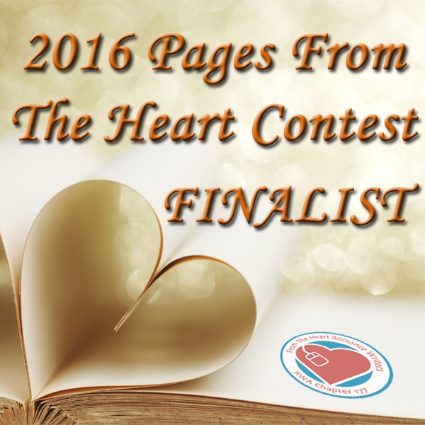 Finalist Badge for 2016 Pages From The Heart Unpublished Author, Historical Category