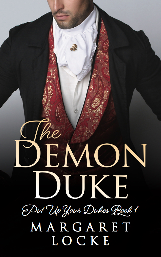 Cover image for The Demon Duke by Margaret Locke